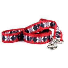 Atlanta Falcons Argyle Dog Leash