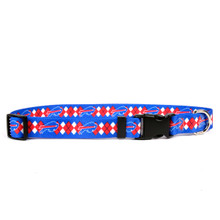 Buffalo Bills Argyle Dog Collar