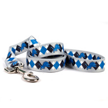 Detroit Lions Argyle Dog Leash