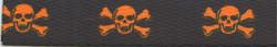 Orange and Black Skulls Waist Walker
