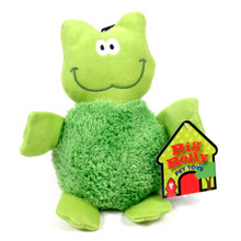 Big Belly Plush Frog Squeaker Dog Toy