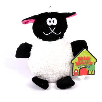 Big Belly Plush Sheep Squeaker Dog Toy