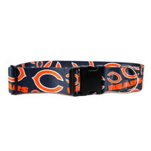 Chicago Bears 2 Inch Wide Dog Collar