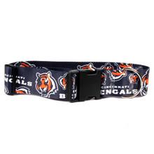 Cincinnati Bengals 2 Inch Wide Dog Collar