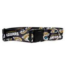 Jacksonville Jaguars 2 Inch Wide Dog Collar