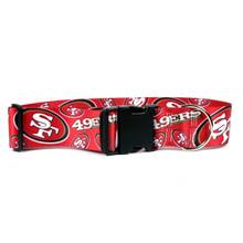 San Francisco 49ers 2 Inch Wide Dog Collar