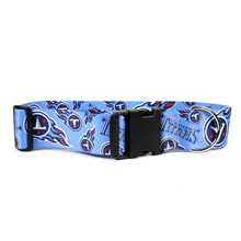 Tennessee Titans 2 Inch Wide Dog Collar
