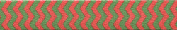 Christmas Chevron Stripe Waist Walker