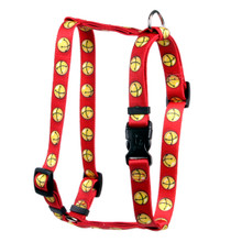 "Jingle Bells Roman Style ""H"" Dog Harness"