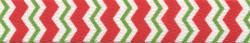 Peppermint Stick Chevron Stripes Waist Walker