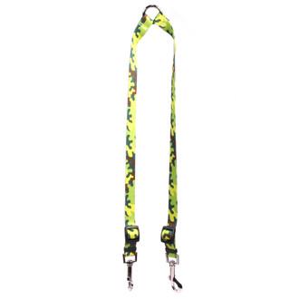 Neon Camo Coupler Dog Leash
