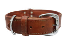 The Dallas - Luxury Leather Dog Collar
