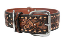 The Tucson - Luxury Leather Dog Collar