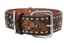 The Tucson - Luxury Leather Dog Collar