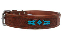 The Sierra - Luxury Leather Dog Collar