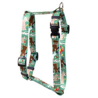 "Woodland Friends Roman Style ""H"" Dog Harness"