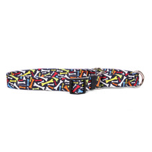 Crazy Bones Martingale Dog Collar