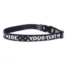 Personalized Gumballs Dog Collar
