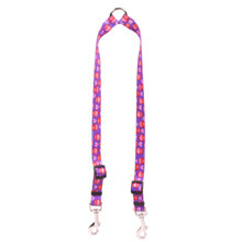 Valentines Owls Coupler Dog Leash