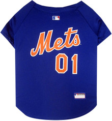New York Mets MLB Pet JERSEY