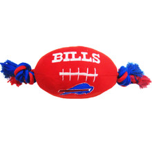 Buffalo Bills NFL Squeaker Football Toy