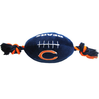 Chicago Bears NFL Squeaker Football Toy