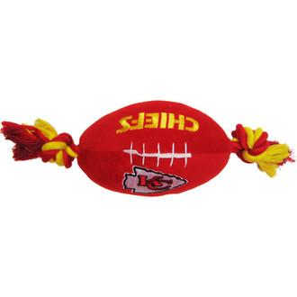 Kansas City Chiefs NFL Squeaker Football Toy