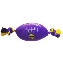 Minnesota Vikings NFL Squeaker Football Toy