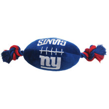 New York Giants NFL Squeaker Football Toy