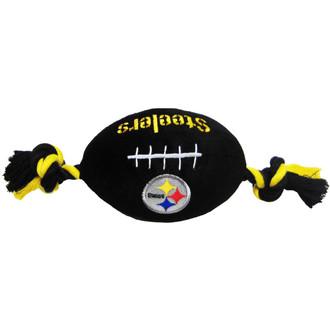 Pittsburgh Steelers NFL Squeaker Football Toy