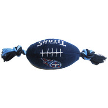 Tennessee Titans NFL Squeaker Football Toy
