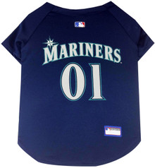 Seattle Mariners MLB Pet JERSEY
