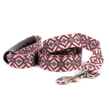 Aztec Red EZ-Grip Dog Leash