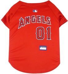 LA Angels of Anaheim MLB Pet JERSEY