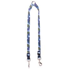Spirals Blue Coupler Dog Leash