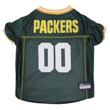 Green Bay Packers PREMIUM NFL Football Pet Jersey
