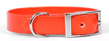 Solid Orange Elements Dog Collar