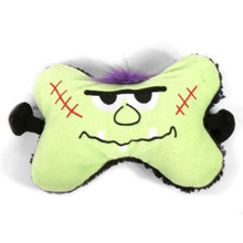 Frankenstein Bone Squeaker Dog Toy 2 PACK