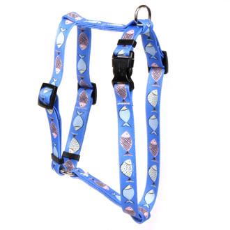Go Fish Roman Style Dog Harness