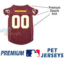 Washington Redskins PREMIUM NFL Football Pet Jersey