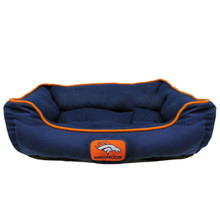 Denver Broncos NFL Football Dog Bed