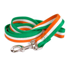 Irish Stripe Bamboo Dog Leash