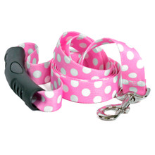 Watermelon Polka Dot EZ-Grip Dog Leash