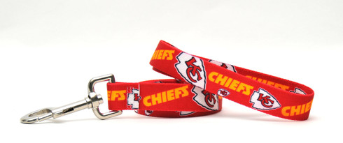 Kansas City Chiefs Logo Dog Leash