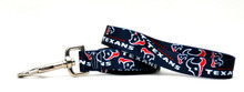 Houston Texans Logo Dog Leash
