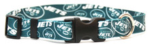 New York Jets Logo Dog Collar