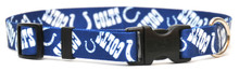 Indianapolis Colts Logo Dog Collar