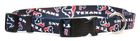 Houston Texans Logo Dog Collar