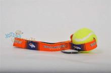Denver Broncos  Tennis Ball Tug Dog Toy