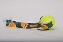 Green Bay Packers  Tennis Ball Tug Dog Toy